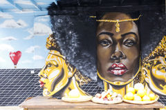 Multicultural Street Art Royalty Free Stock Photo