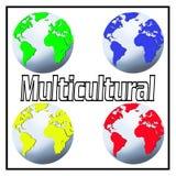 Multiculturel Photographie stock libre de droits