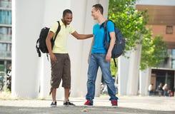 Multiculturele studenten Stock Fotografie