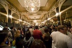 Multidão 1 da convenção Fotografia de Stock Royalty Free