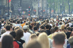 Multidão Fotos de Stock