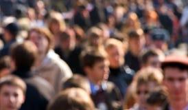 Multidão Imagens de Stock