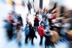 Multidão Foto de Stock