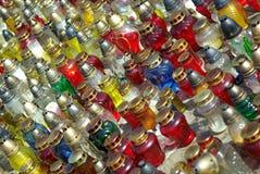 Multidão de Ícone-lâmpadas Imagens de Stock