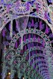 Multidão de luzes na noite Fotografia de Stock Royalty Free