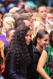 Multidão de povos Imagem de Stock Royalty Free