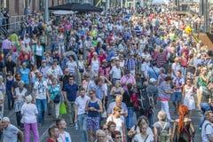 Multidão de povos Foto de Stock Royalty Free