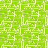 Multidão do Android Fotos de Stock