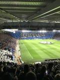 Multidão do estádio de futebol Fotos de Stock