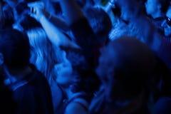 Multidão do partido Imagens de Stock Royalty Free