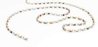 Multidão dos desenhos animados, esticador Fotografia de Stock
