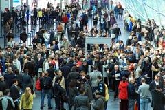 Ró Fiera, multidão dos povos Foto de Stock