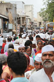 Multidão indiana da vila Imagem de Stock