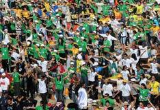 Multidão instantânea foto de stock