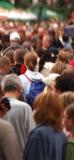 Multidão no movimento Fotografia de Stock Royalty Free