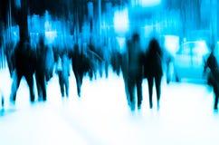 Multidão dos povos de cidade Imagens de Stock