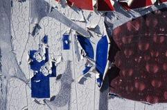 Multielement versleten grunge textuur als achtergrond stock afbeelding