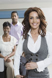 Multiethnic Business People In Office Stock Images