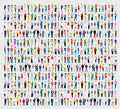 Multiethnic Casual People Togetherness Celebration Arms Raised C Royalty Free Stock Images