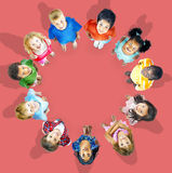 Multiethnic Children Smiling Happiness Friendship Concept Stock Photo
