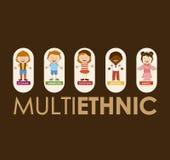 Multiethnic community Stock Photography