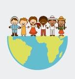 Multiethnic community Royalty Free Stock Photography