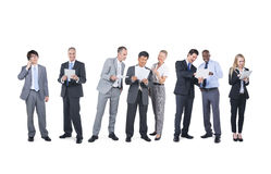 Multiethnic Group of Business People Stock Images