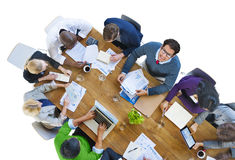 Multiethnic Group of Business People Meeting Stock Photos