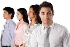 Multiethnic Group of Businesspeople Stock Photos