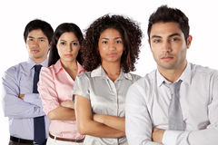 Multiethnic Group of Businesspeople Royalty Free Stock Photography