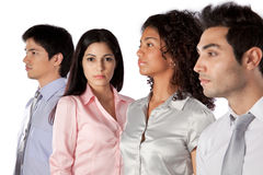 Multiethnic Group of Businesspeople Stock Image