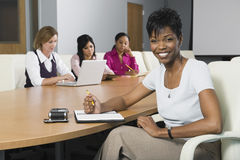 Multiethnic Group Of Businesswomen Stock Images