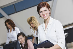 Multiethnic Group Of Businesswomen Stock Image