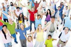 Multiethnic Group of People Celebration Stock Photography