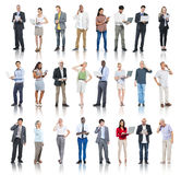 Multiethnic Group of People with Digital Devices Royalty Free Stock Photography