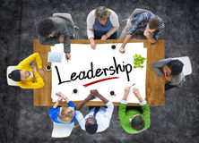 Multiethnic Group of People Discussing About Leadership Royalty Free Stock Images