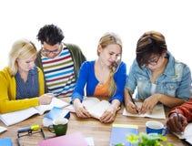 Multiethnic Group of People Meeting Stock Image