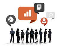 Multiethnic Group of People Meeting in the Office Royalty Free Stock Photo