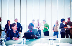 Multiethnic Group of People Meeting in the Office Concept Royalty Free Stock Image