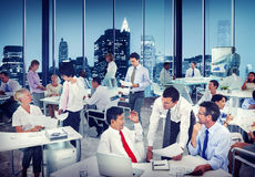 Multiethnic Group of People Working in the Office Royalty Free Stock Photo