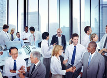 Multiethnic Group of People Working in the Office Royalty Free Stock Photography