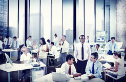 Multiethnic Group People Working Office Concept Royalty Free Stock Photography