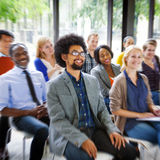 Multiethnic Group Seminar Training Boardroom Concept Royalty Free Stock Photo