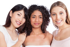 Multiethnic Group of Woman Royalty Free Stock Photography