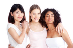 Multiethnic Group of Woman Royalty Free Stock Photo