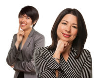 Free Multiethnic Mother And Daughter Portrait Royalty Free Stock Images - 15166459
