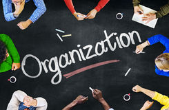 Multiethnic People Discussing About Organization royalty free stock photo