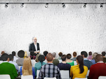 Multiethnic People Seminar Copy Space Conference Concept Stock Images