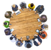 Multiethnic People Social Networking Together Royalty Free Stock Images