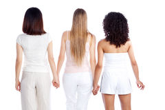 Multiethnic Woman Holding Hand Stock Image